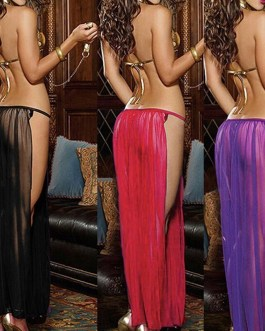 Adult Woman's Harem Costume 3 Color Choices