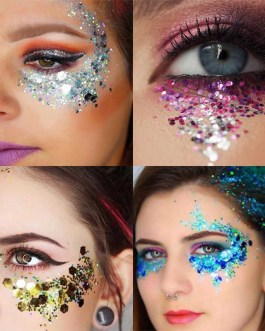Cosmetic Glitter For Eyes, Face, Hair, Nails  Multiple Color Styles
