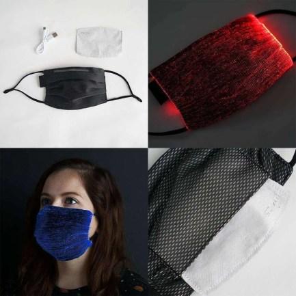 LED Face Mask 7 Colors 5 Modes