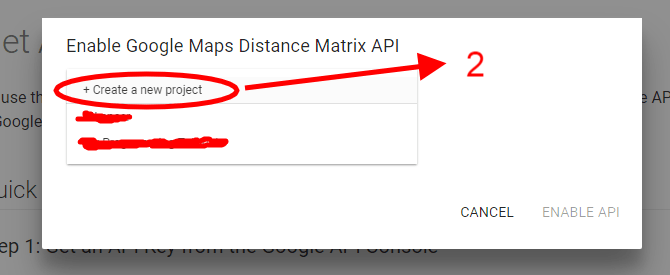 Find Distance Between two Addresses using Google API and PHP
