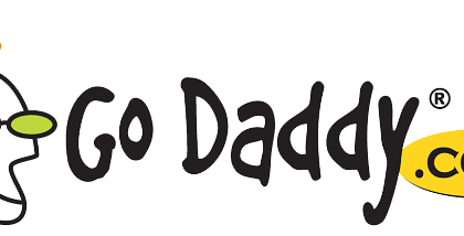 godaddy logo - transparent