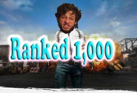 Top 1000 PUBG Player (NA PlayerUnknown's Battlegrounds)