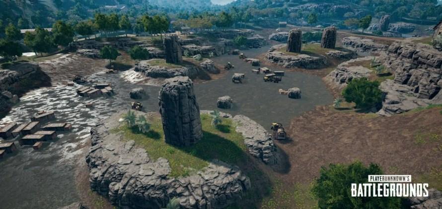 image de la nouvelle map pubg dans la jungle savage2