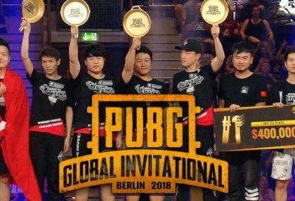 Une première saison d'e-Sport pour PUBG en 2019