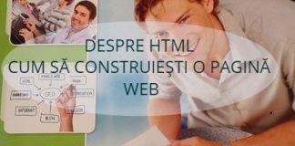 cum să creezi o pagină web