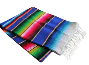 Mexican Blanket Tablecloth for Cinco De Mayo