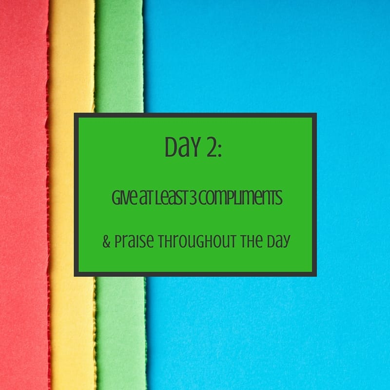 day 2 mom challenge