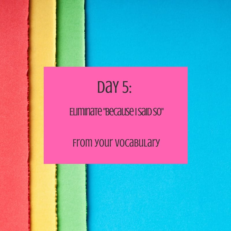 30 day challenge day 5