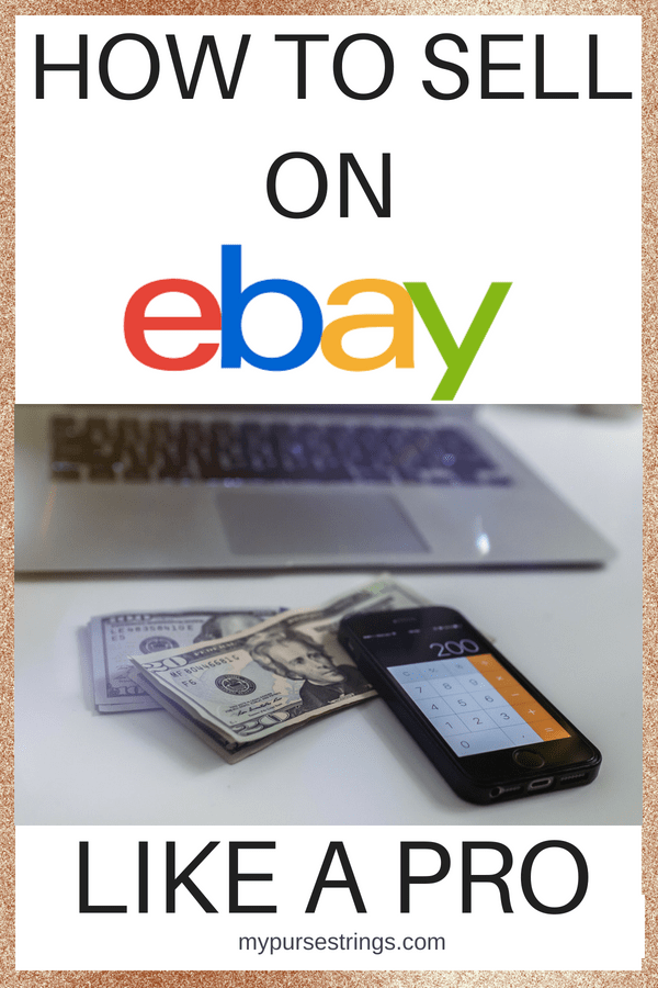 Learn tips and tricks to sell on eBay like a pro. Everything you need to know to sell your items quickly and at the right price. #ebay