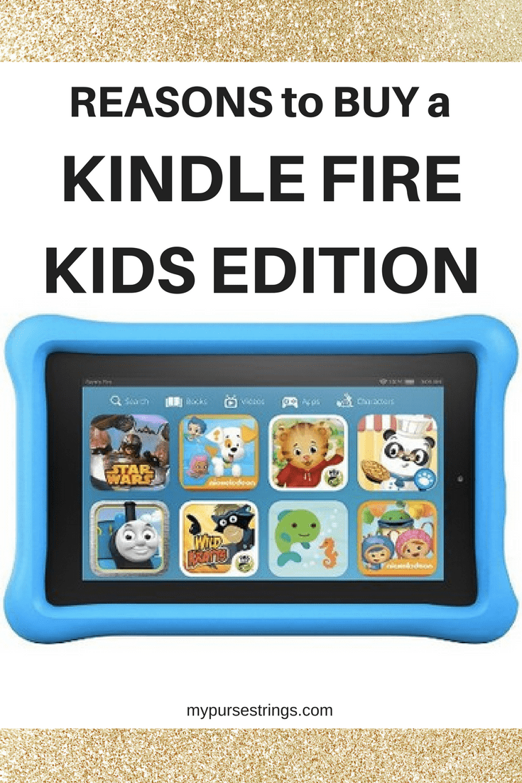 Want to motivate your kids to read more? Are your kids addicted to their devices? Consider a Kindle Fire Kids edition even if you have an iPad #KindleFire