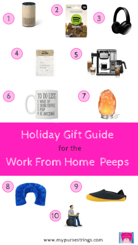 Holiday Gift Guide for Work from Home Peeps