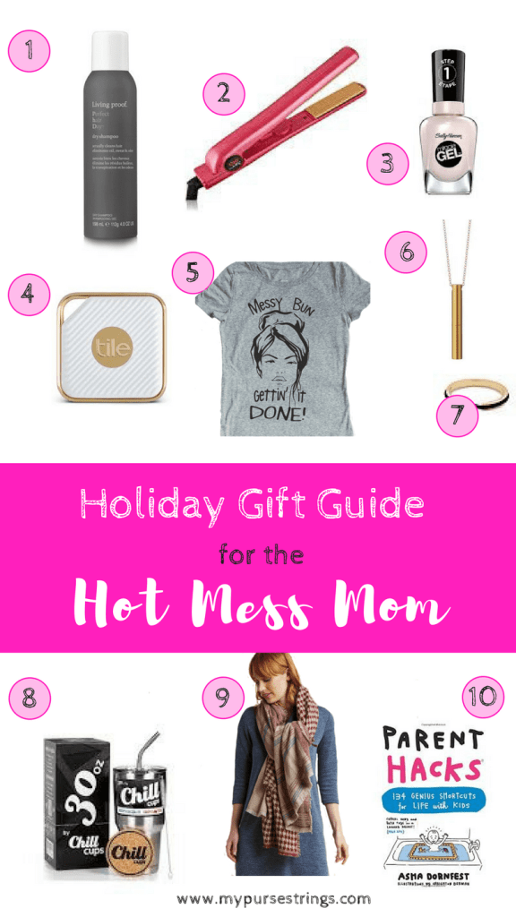 Holiday Gift Guide for the Hot Mess Mom