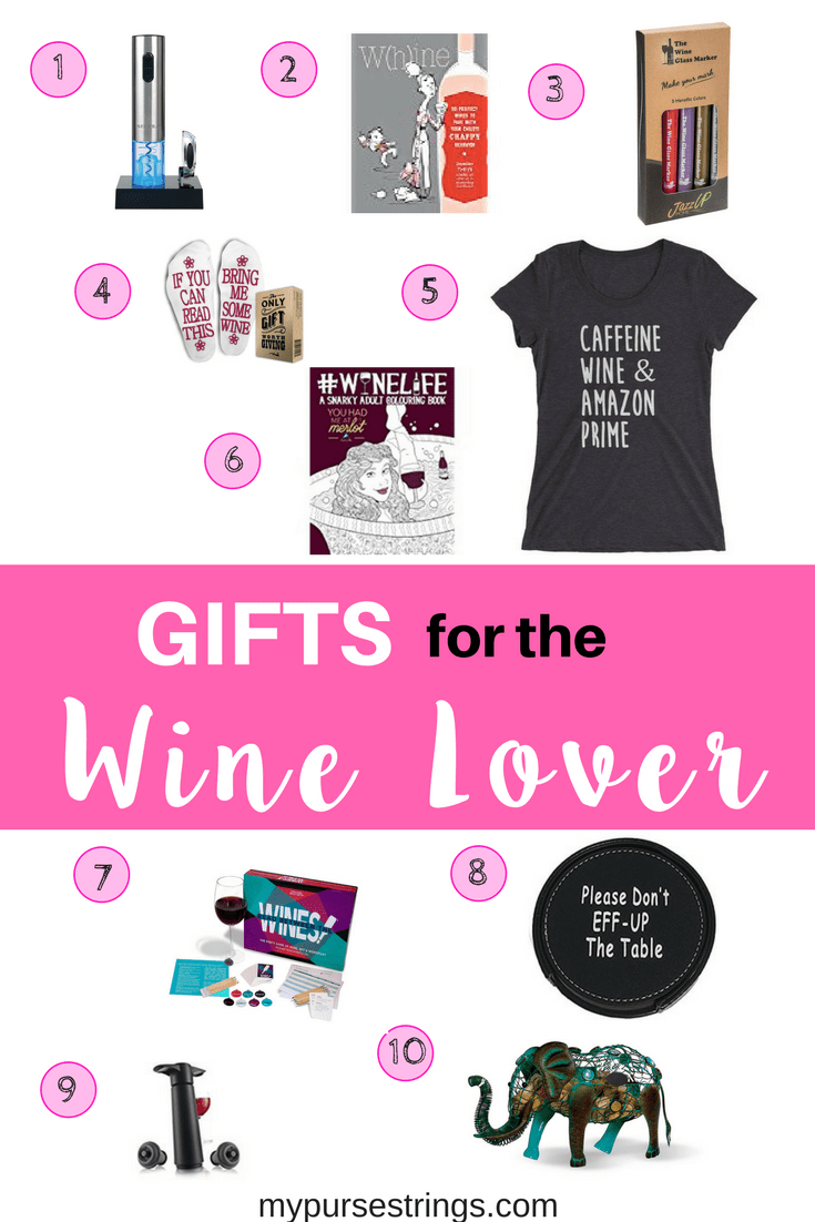 Shopping for a gift for someone who loves wine? This is the ultimate gift guide for the wine lover in your life. #holidays #valentinesday #gifts #giftguide