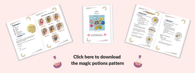 crochet pattern magic potion