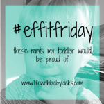 #effitfriday – 29th January 2016