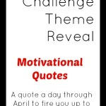 #AtoZChallenge Theme Reveal – April in Motivational Quotes