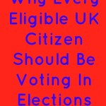 Why Every Eligible UK Citizen Should Be Voting In Elections