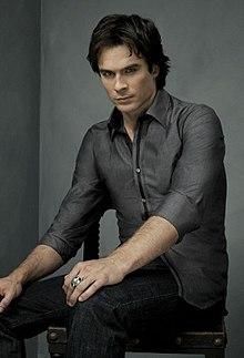 Iam Sommerhalder as Damon Salvatore