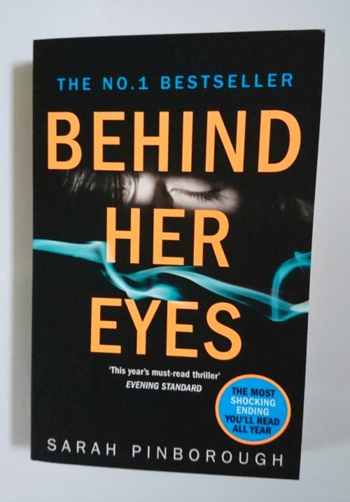 Behind Her Eyes by Sarah Pinborough book cover