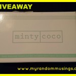 #Giveaway – A Month's Supply of Minty Coco Oil Pulling Oil