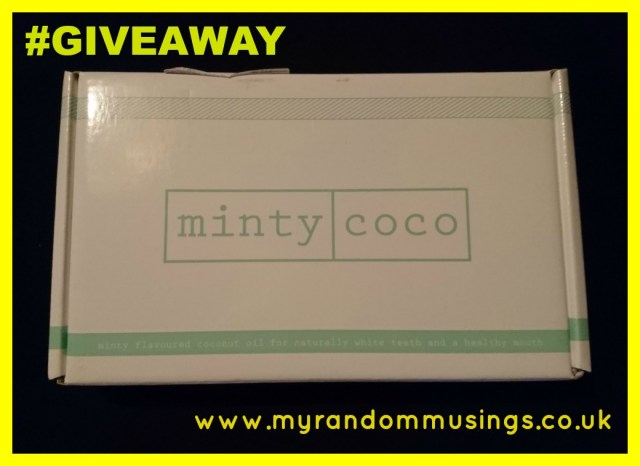 #giveaway Minty Coco oil pulling oil