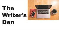 The Writer's Den Facebook group logo
