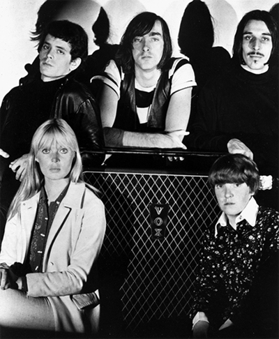 The Velvet Underground and Nico in 1966