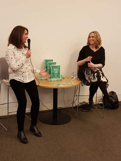 Louisa Treger interviewing Rebecca