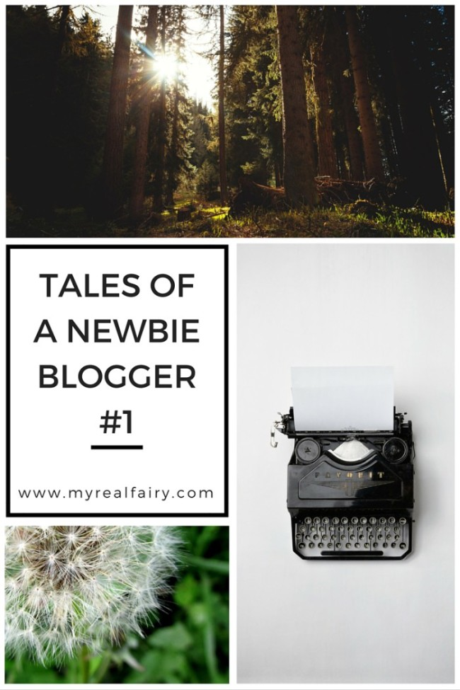 Tales of a Newbie Blogger #1