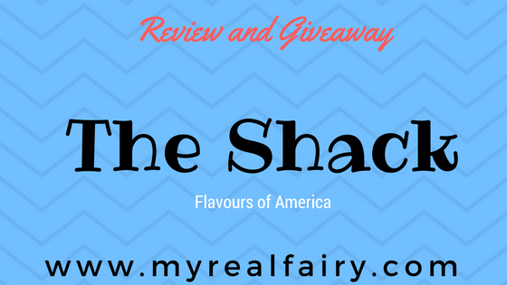 The Shack …. flavours of America. Review and Giveaway