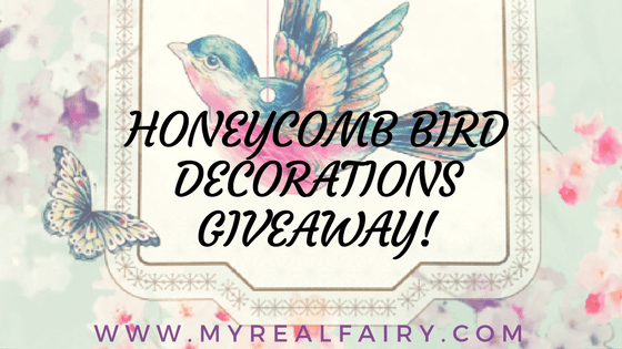Honeycomb Bird Decorations Giveaway