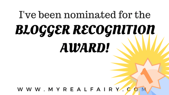 Blogger Recognition Award …Let's Party!