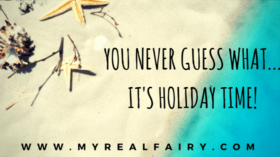 You never guess what... It's Holiday Time!