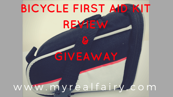 bicycle first aid kit review & giveaway
