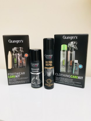 Taking Care of our shoes with Granger's Care Kits
