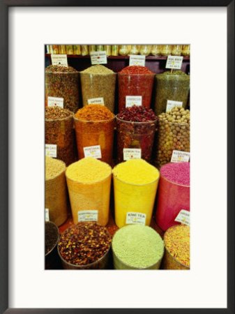 Baharat (Spices) and Cay (Tea) for Sale, Istanbul, Istanbul, Turkey