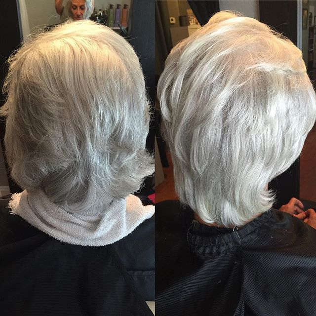 Putting The Shine On Silver Hair