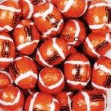 Footballs Solid Milk Chocolate - (1 Lb - 63 Pcs)