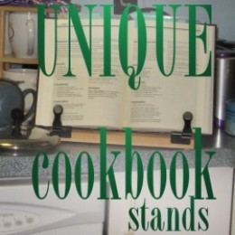 Unique styles to give your kitchen counter a practical stand.