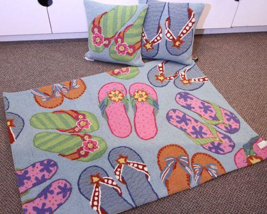 cute beach style rug