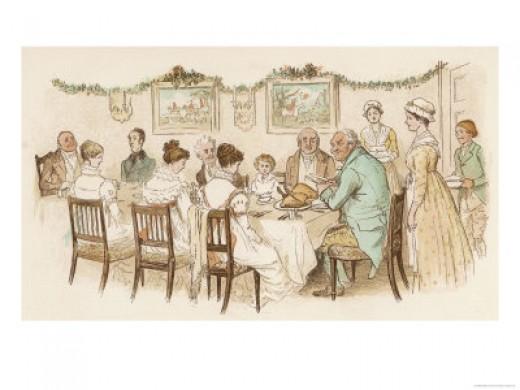 Christmas Oldtime Dinner