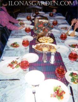 pear/pomegranate salad