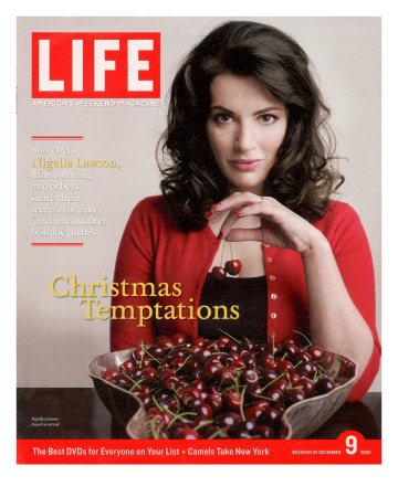Life's story on cherries