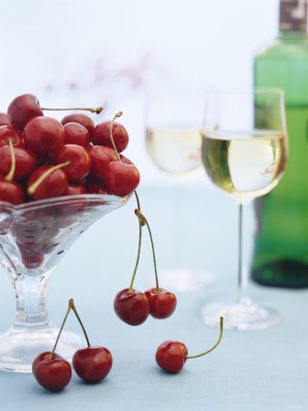 dessert cherries