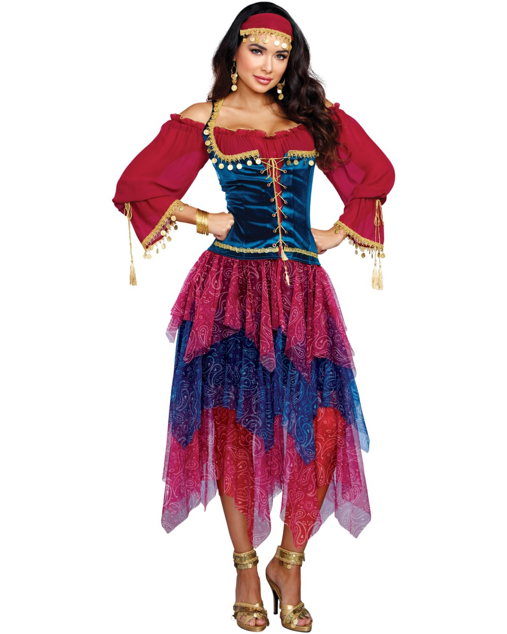 Gypsy Style Belly Dancer, Costuming And Gift Ideas