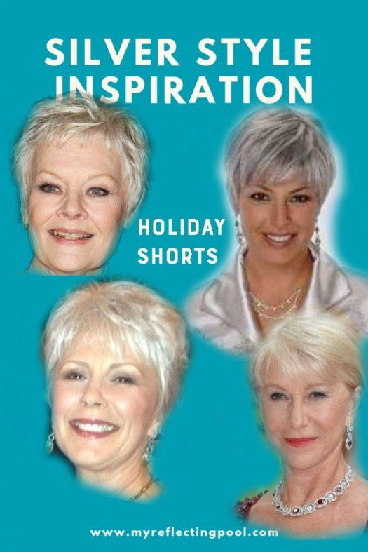 Silver Holiday Hair