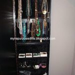 how to DIY Jewelry Armoire