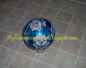 repurposed bowling ball