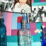 DIY Bottle Photo Holders