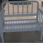 Cute twin headboard bench